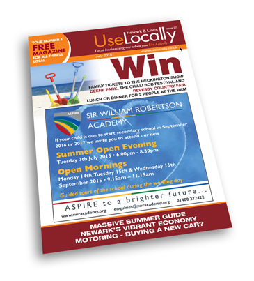 July 2015 Use Locally Newark & Lincoln